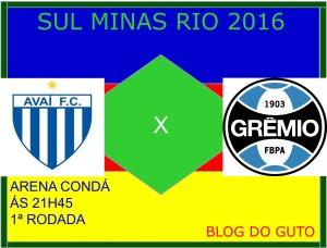SMR - AVA X GRE - 2016 2